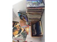 More than 300 records . Variety of musical genres. Sells only the whole.