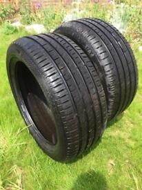 2x New Barum Bravuris 3 Summer Tyres. Size 225 45 17