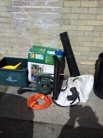 Black & Decker GW150 'LeafBuster' Garden Vac/Blower