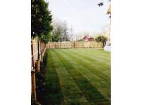 Landscape gardener available
