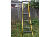 Youngman mega step fibreglass stepladder step ladder