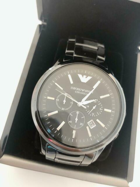 75983097f6 Emporio Armani watch men's ceramic | in East End, Glasgow | Gumtree