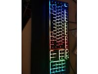 Razer Tournament Keyboard with Wrist Pad