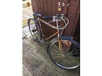 1970's triumph bike