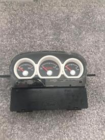 Focus st mk2 boost gauge ready for painting