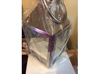 10 Chrome lanterns brand new unused wedding decoration