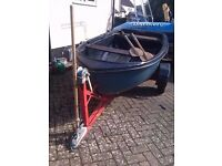 Dinghy Boat - New Oar Locks and Trailer £500 ONO