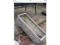 Concrete planter / plant pots