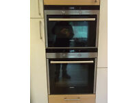 Two Matching Siemens integrated ovens