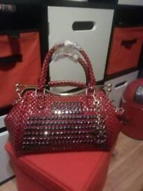 BRAND NEW STUNNING RED BAG