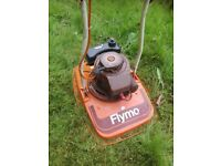 Petrol Hover Mower Flymo Serviced