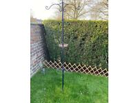 Bird feeder and plant trellis