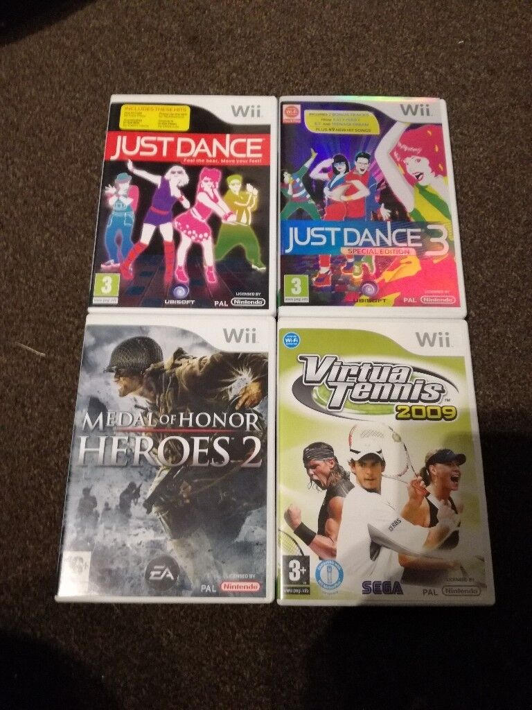Collection of Wii games