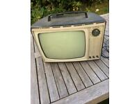 Television . Black and White. Make Marconiphone. !960's Nuthall NG6 Nottingham