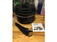 **SOLD** Set of 3 Tefal Ingenio stackable pans