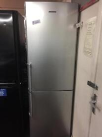 SAMSUNG SILVER FRIDGE FREEZER IN EXCELLENT CONDITION- PLANET 🌎 APPLIANCE