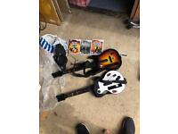 Guitar Hero Wii - Games, 2 Guitars and Pedal