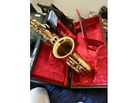 B&S Senora Saxaphone and case