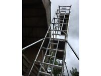 Boss Youngman Scaffold Tower Narrow Evolution M3 8.2m WH X 1.8m