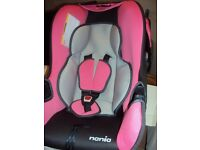 BABY CARRIER/CAR SEAT NEW UNUSED