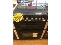 SERVIS 60CM BRAND NEW CEROMIC TOP ELECTRIC COOKER IN BLACK