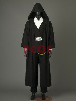 NEW The Last Jedi Luke Skywalker Projection Crait Cosplay Costume  HH.15