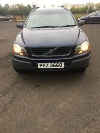 VOLVO XC90 7 SEATS 2.4 D5 DIESEL GEARTRONIC SE AUTOMATIC 4X4 AWD. FULL YEAR MOT, VERY GOOD CONDITION