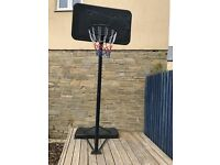 Awesome Reebok height adjustable basketball hoop with new net