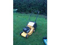 Mculloch petrol lawnmower