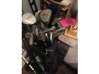 Full set golf clubs and bag for sale