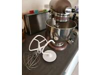 Apple Cider Kitchenaid Stand Mixer & Attachments