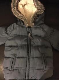 3-6 months boys winter coat