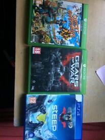 Steep, Sunset Overdrive, Gears of war ultimate edition