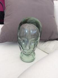 RETRO GLASS HEAD FULL SIZE ..