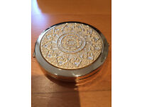 Compact Mirror - The Leonardo Collection Gold-Plated