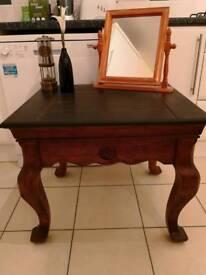 Beautiful huge solid quality chunky coffee table