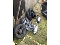 Motorbike parts and bmx