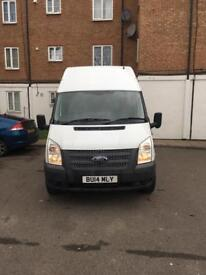 FORD TRANSIT T350 RWD 2.2 DIESEL MANUAL MILEAGE 27800 HIGH ROOF 1 PREVIOUS OWNER