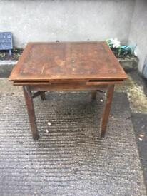 Chancellor table