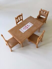 Sylvanian Family dining table