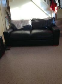 3seater brown sofa. Need gone asap