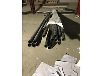 Brand new solvent pipe 50mm x 4m qty -14
