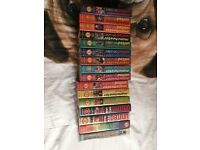 Various Manchester United vhs official merchandise