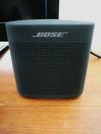 BOSE Soundlink Color II Portable Bluetooth Wireless Speaker Nearly new no box