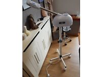 Facial steamer and microdermabrasion machine