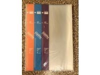 A2 Display Book plastic sleeve (Seawhite)