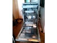 Ex demo bankrupt stock kenwood kid45s16 slimline intergrated dishwasher in excel