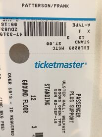 2 tickets for passenger