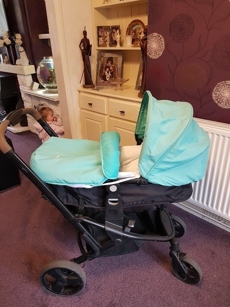 Mothercare Xpedior pram and complete travel system