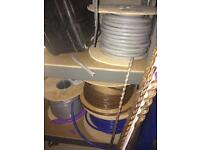 Electrical cable - various, brand new
